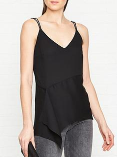 allsaints-draped-cami-top-black