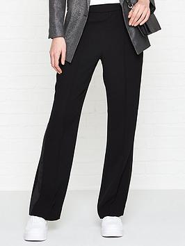 allsaints-essi-side-stripe-trousers-black