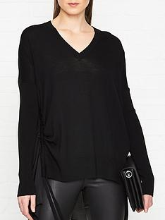 allsaints-moira-v-neck-jumper-black