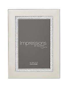 silverplated-photo-frame-glitter-band-4x6
