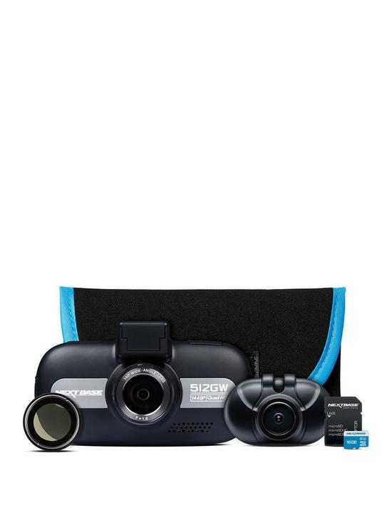 c3654411344f Nextbase 512GW Dash Cam and Rear Dash Cam Bundle with 16Gb SD Card and  Carry Case