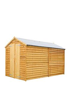 mercia-10-x-6ft-overlap-apexnbspwindowless-shed