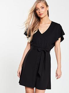 v-by-very-button-through-belted-jersey-dress