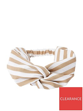 river-island-stripe-headband-beige