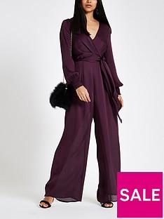 ri-petite-long-sleeve-jumpsuit-berry