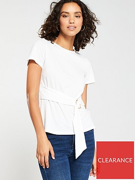 v-by-very-tie-front-short-sleeve-tshirt