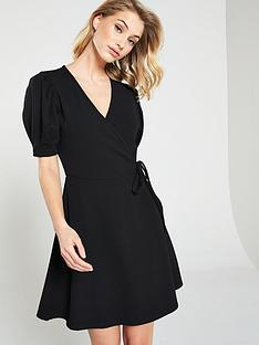 V by Very Wrap Tea Dress 285230014