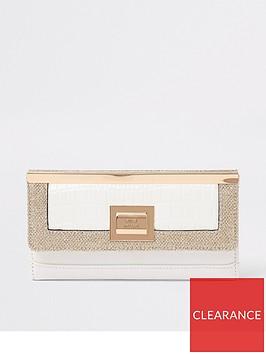 river-island-foldout-purse-white