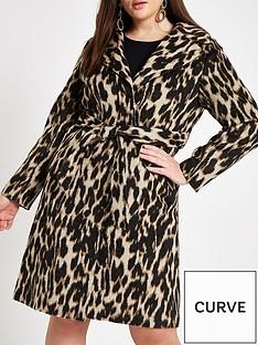 ri-plus-printed-robe-coat-leopard