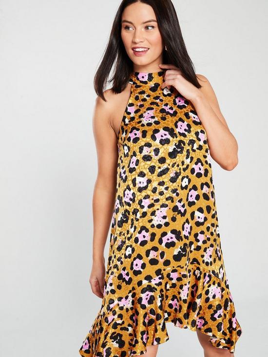 Animal Print Swing Dress