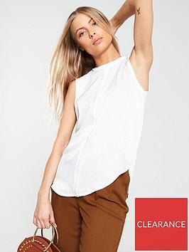 v-by-very-woven-v-blouse--nbspivory