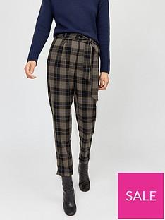warehouse-tie-waist-leg-trouser-checknbsp