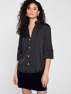 river-island-river-island-button-front-satin-blouse-black