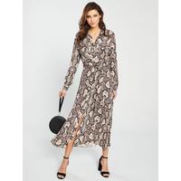 a0d255f117c1a5 Shoptagr | Elfrida Snake Print Shirt Dress by Whistles