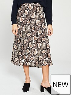 whistles-snake-print-bias-cut-skirt
