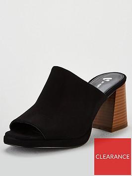 v-by-very-greta-platform-flared-heel-mule