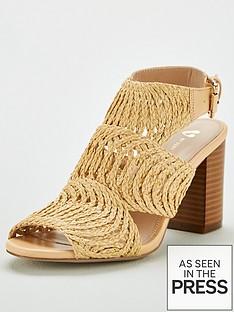 v-by-very-gabi-raffia-cage-heeled-sandal-natural