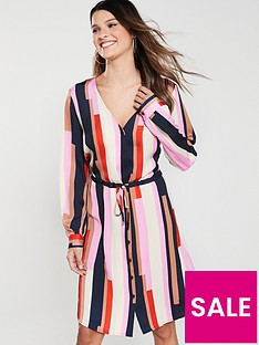 vero-moda-matilda-striped-shirt-dress