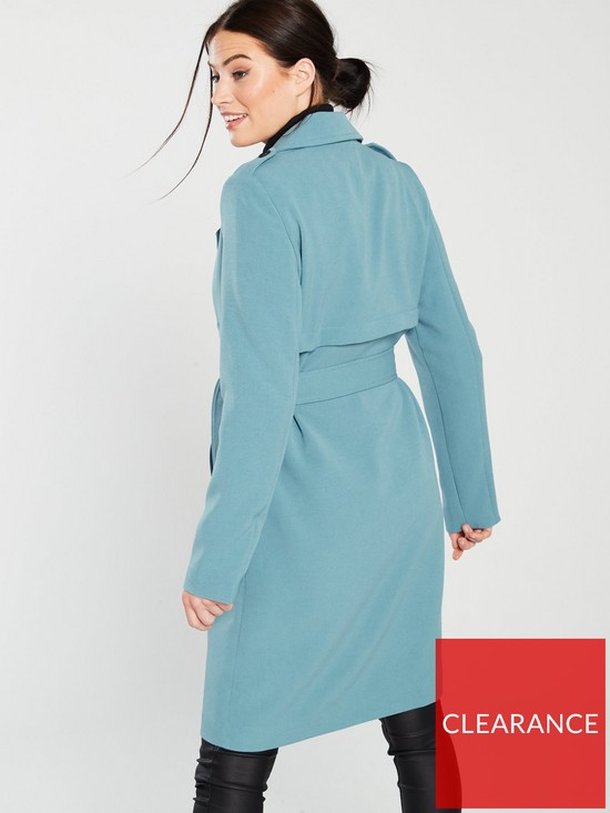 pretty nice 98f01 7352f Trench Coat - Pale Blue