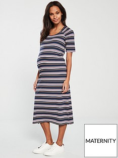 c7b2bacbfe Mama-Licious Mamalicious Maternity Paige Jersey Midi Dress