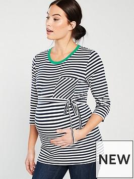 mama-licious-mamalicious-gina-34-jersey-maternity-top