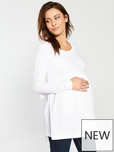 mama-licious-carolina-long-sleeve-maternity-top-white