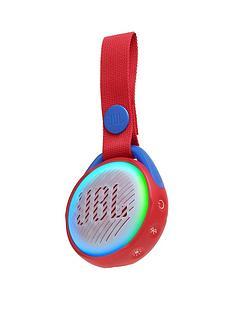 JBL JR POP Portable Bluetooth Speaker for Children - Red