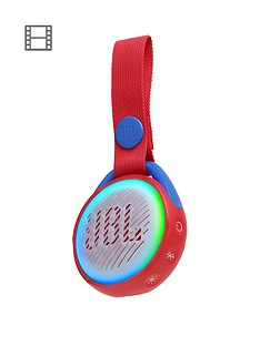 JBL JR POP Portable Bluetooth Speaker for Children - Red