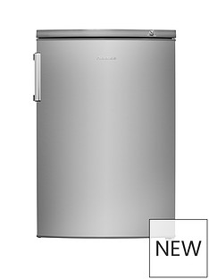 Hisense FV105D4BC21 55cmWide Under-Counter Freezer - Stainless Steel Look