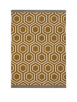 geo-diamond-rug
