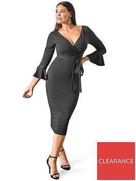 sistaglam-loves-jessica-fluted-sleeve-bodycon-wrap-dress-blacknbsp