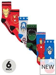 the-avengers-avengers-boys-6pk-socks
