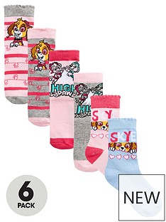 paw-patrol-girls-6pk-socks