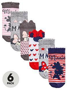 minnie-mouse-baby-girls-6pk-socks