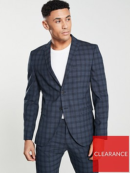 selected-homme-slim-fit-check-suit-jacket-navy