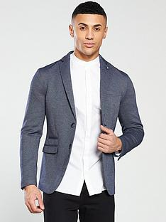 selected-homme-slim-fit-blazer-navy