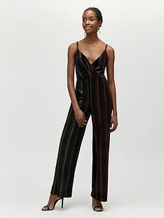 warehouse-ombre-velvet-jumpsuit