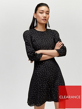 warehouse-irridescent-spot-dress