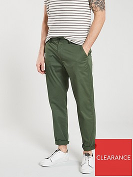 selected-homme-tapered-fit-luke-chino-green