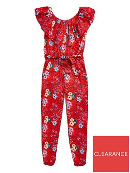 v-by-very-girls-red-floral-ruffle-jumpsuit-multi