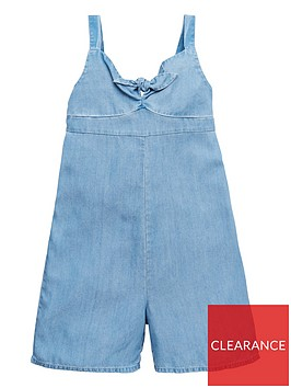 v-by-very-girls-bow-frontnbspculotte-jumpsuit-blue