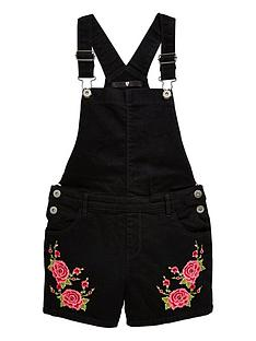 v-by-very-embroiderednbspdungarees-black