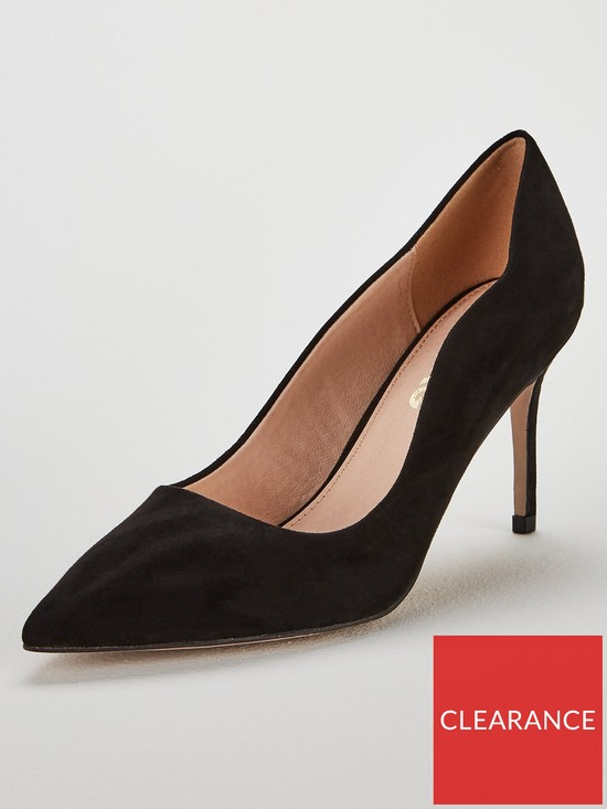 d79e852c8e2 Miss KG Corinthia Heeled Court Shoe - Black