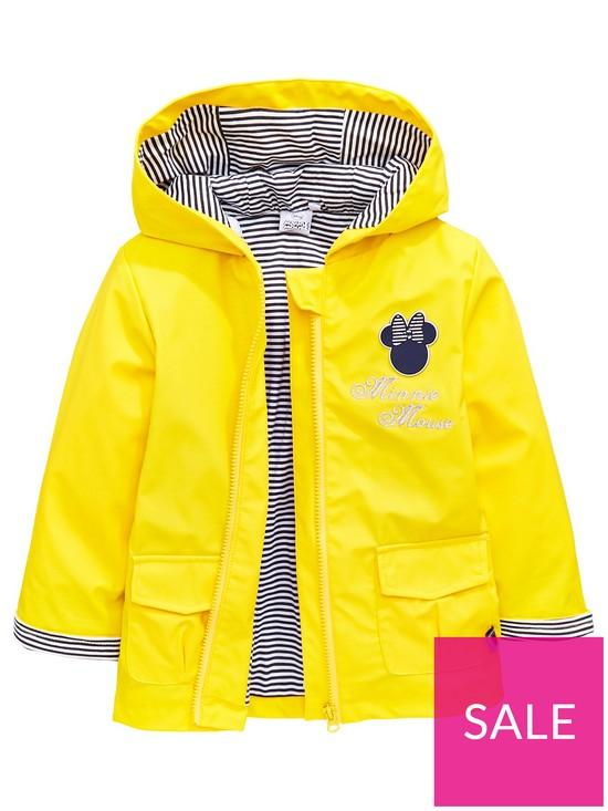 129bce0d2 Minnie Mouse Girls Showerproof Jacket | very.co.uk