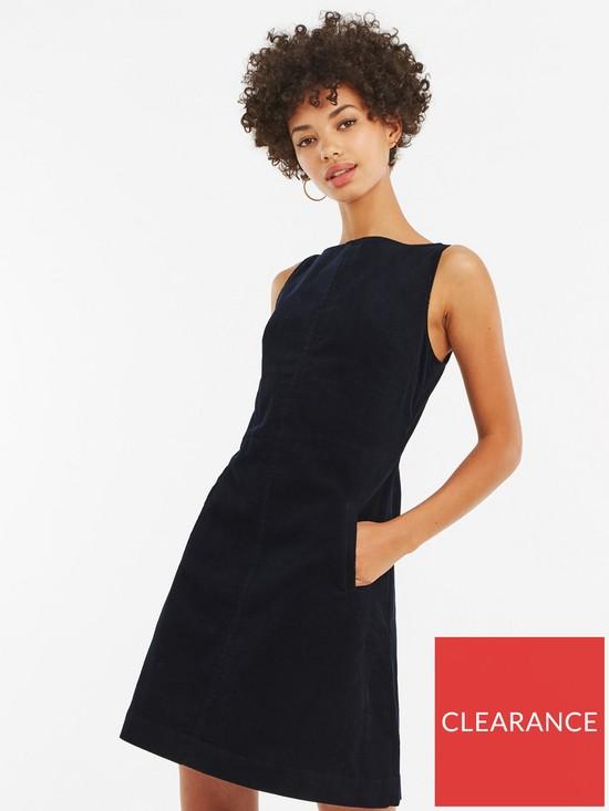 26476bbabd Oasis Denim Cord Dress - Navy