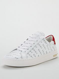 dkny-court-lace-up-trainers-white