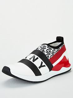 dkny-reese-slip-on-trainer-white-black