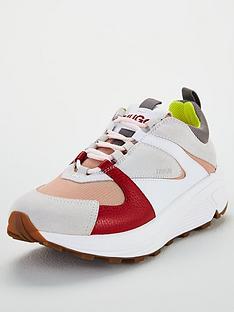 hugo-horizon-trainers-red-multi