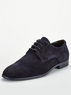 hugo-suede-derby-lace-up-shoe