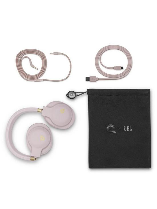 c1376877abc ... JBL E55BT Quincy Edition Wireless Bluetooth Headphones - Dusty Pink.  View larger